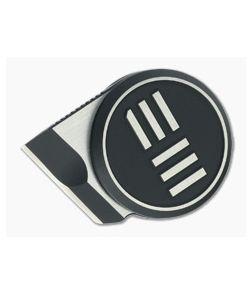 WE Knives Quark Ostap Hel Chisel M390 Silver/Black Pendant Neck Knife WE20021-2