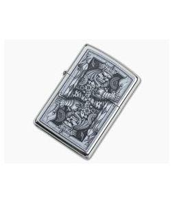 Zippo Lighter Steampunk King of Spades Design
