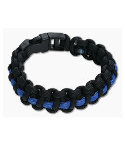 Knotty Boys 550 Paracord Bracelet Support Our Police