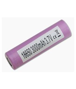 Samsung 30Q INR 18650 3000mAh 3.6V Unprotected High-Drain Lithium Ion Flat Top Battery
