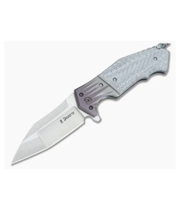 Randy Doucette Artillery Silver Twill Satin CPM-S35VN