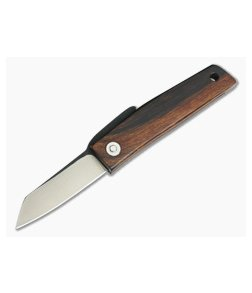 Hiroaki Ohta Knives OFF FK5P Desert Iron Wood Friction Folder 3680