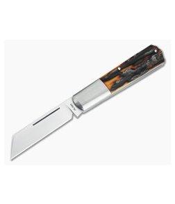 Pepe Jalomo Custom Stag Barlow CPM154 Wharncliffe Slip Joint