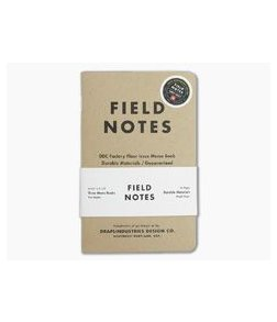 Field Notes Tenth Anniversary Edition 32-page Memo Notebook 3 Pack