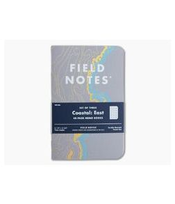 Field Notes Coastal: East 48-Page Limited Notebook 3 Pack