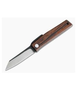 Hiroaki Ohta Knives OFF FK7 Cocobolo Wood Friction Folder 3988