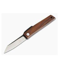 Hiroaki Ohta Knives OFF FK7 Cocobolo Wood Friction Folder 3991