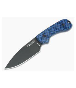 Bradford Guardian3 False Edge GPK Exclusive Black DLC Rex 45 Blue/Black G10 Fixed Blade