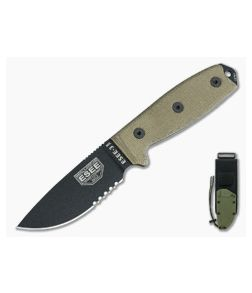 ESEE 3MIL-S Partially Serrated Blade OD Sheath