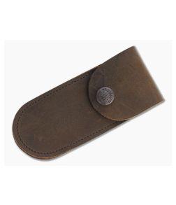 Case Knives XX Snap Soft Leather Belt Sheath 40003