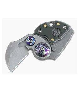 Serge Panchenko Coin Claw Gen 3 CPM-154 Ammo Can Titanium Slip Joint Folder 4019
