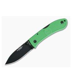 Kabar Knives Dozier Kelly Green Folding Hunter 4062KG
