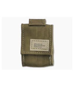 Zippo Tactical Pouch Nylon MOLLE Lighter Pouch Coyote 48401