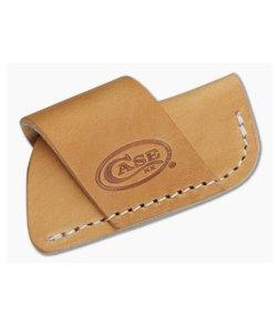 Case Leather Side Draw Belt Sheath