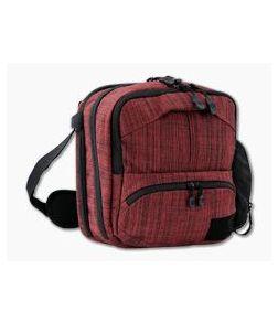 Vertx Essential Sling 2.0 EDC CCW Sling Bag Heather Red | It's Black VTX5031 HRD/IBK