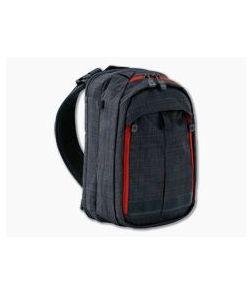 Vertx Transit Sling 2.0 EDC CCW Sling Bag Heather Black | Mars Red VTX5041 HBK/MRD