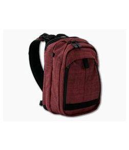 Vertx Transit Sling 2.0 EDC CCW Sling Bag Heather Red | It's Black VTX5041 HRD/IBK