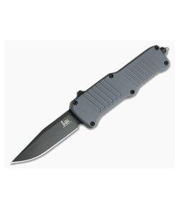 HK Mini Incursion Clip Point Black PVD 154CM Grey OTF Automatic 54052