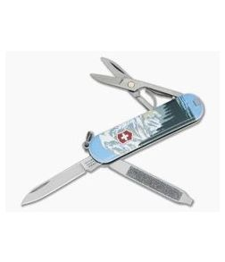 Victorinox Classic SD Mount Rainier National Park Swiss Army Knife Limited 2019 55482