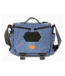 Vanquest GOFER-12 Urban Messenger Bag Midnight Blue 656112MBLU