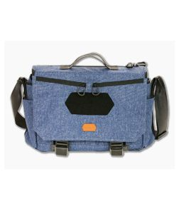 Vanquest GOFER-15 Urban Messenger Bag Midnight Blue 656115MBLU