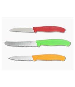 Victorinox Classic 3-Piece Paring Knife Set 6.7116.32