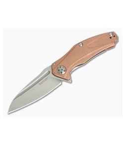 Kershaw Natrix Mini Copper Sub-Frame D2 KVT Flipper 7006CU