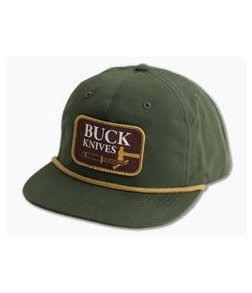 Buck Knives Vintage Buck Logo Adult Hat 89147