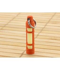 TEC Accessories Aluminum Glow Fob Orange Cerakote