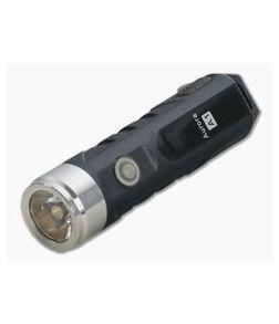 Rovyvon Aurora A1x Black Polycarbonate 450 Lumen Neutral White LED Keychain Flashlight