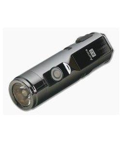 Rovyvon Aurora A2x Space Grey PVD Stainless Steel 650 Lumen Cool White LED Key Chain Flashlight