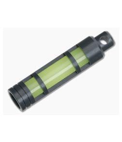 TEC Accessories Aluminum Glow Fob Clear Anodize Embrite