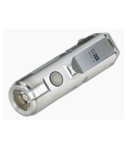 Rovyvon Aurora A4x Titanium Keychain Cool White LED Flashlight 650 Lumens