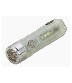 Rovyvon Aurora A5x Neutral White + UV 450 Lumen GITD LED Keychain Flashlight