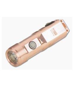 Rovyvon Aurora A9 Copper Keychain Cool White LED Flashlight 650 Lumens
