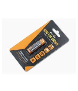 Fenix Rechargeable 14500 Li-ion Battery 1600 mAh