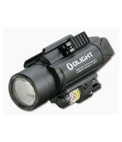 Olight Baldr Pro Gunmetal Gray Limited 1350 Lumen LED Handgun Weapon Light with Green Laser