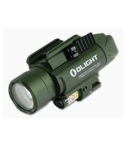 Olight Baldr Pro OD Green Limited Edition 1350 Lumen LED Handgun Weapon Light with Green Laser