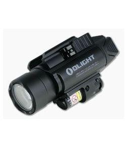 Olight Baldr Pro 1350 Lumen LED Handgun Weapon Light with Green Laser