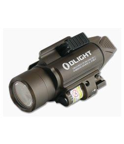 Olight Baldr RL Desert Tan 1120 Lumen LED Handgun Weapon Light with Red Laser