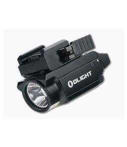 Olight Baldr RL Mini Black 600 Lumen Compact Handgun Weapon Light with Red Laser
