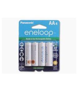 Panasonic Eneloop AA 2000mAh 1.2V NiMH Rechargeable Batteries - 4 Pack