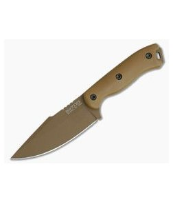 Kabar Becker BK18 Harpoon Tan 1095 Tactical Fixed Blade Knife