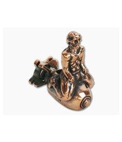 Lion Armory Bomb Rider Bead Copper