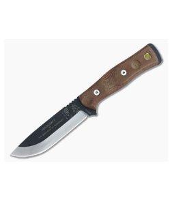 TOPS B.O.B. Fieldcraft Knife Brown Canvas Micarta
