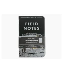 Field Notes Three Missions 48-Page Graph Paper Limited Notebook 3 Pack