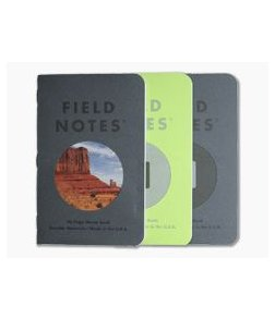 Field Notes Vignette Edition Customizable Graph Paper Memo Notebook 3 Pack FNC-46
