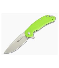 Steel Will Cutjack M390 Flipper Green G10 Liner Lock C22-2GR
