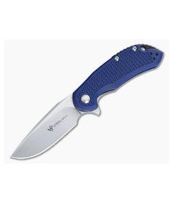 Steel Will Cutjack Mini Blue FRN Flipper Satin D2 C22M-1BL