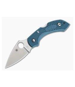 Spyderco Dragonfly 2 Dark Cyan Blue FRN Satin K390 Folder C28FP2K390
